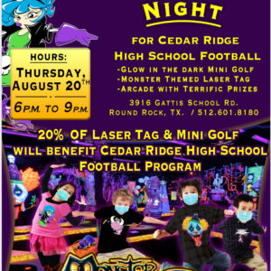 Spirit Night at Monster Mini Golf