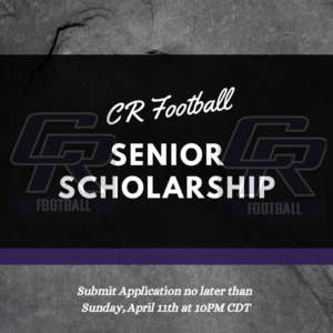 Senior Football Scholarship